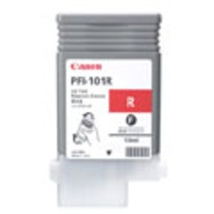 Original Red Canon PFI-101R Ink Cartridge - (0889B001AA)
