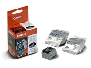 Original Black Canon BCI-10BK Ink Cartridge Triple Pack - (0956A002)