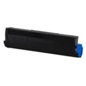 Original Black High Capacity OKI 43502002 Toner Laser Cartridge - 43502002