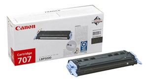 Original Black Canon 707 Toner Cartridge - (9424A004AA)