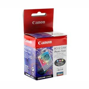 Original Black Canon BCI-12PBK Ink Cartridge Triple Pack - (BCI-12PBK)