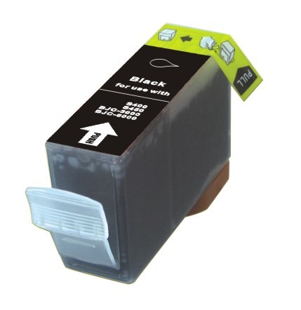 Compatible High Capacity Black Canon BCI-3EBK