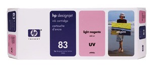 Genuine Light Magenta HP 83 Ink Cartridge UV - C4945A