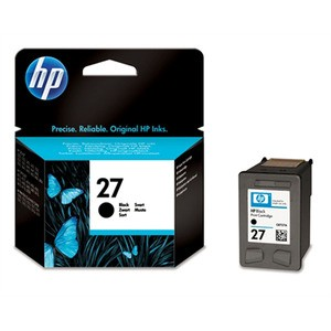 Genuine Black HP 27 Ink Cartridge - C8727AN