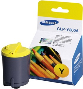 Genuine Samsung CLPY300A Yellow Toner Cartridge (CLP-Y300A/SEE)