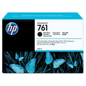 Genuine Matte Black HP 761 Ink Cartridge - CM991A