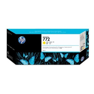 Genuine Yellow HP 772 Ink Cartridge - CN630A