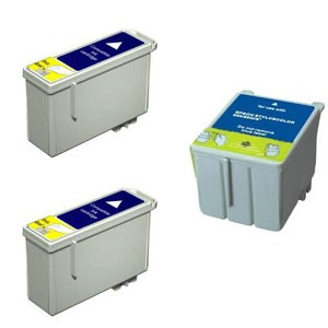 Compatible Multipack Black & Tri-Colour Epson 2x T040 / 1x T041 Printer Cartridge