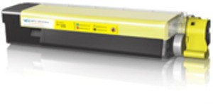 Compatible Yellow Oki 43872305 Toner Laser Cartridge - 43872305