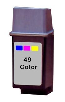 Compatible High Capacity Tri-Colour HP 49 Printer Cartridge - 51649AE