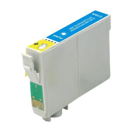 Compatible Cyan Epson T0422 Printer Cartridge