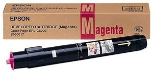 Genuine Magenta Epson S050017 Toner Cartridge
