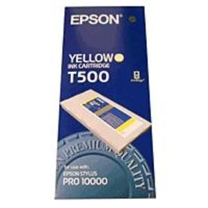 Genuine Yellow Epson T500 Ink Cartridge