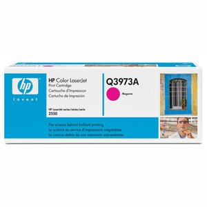 Genuine Light User Magenta HP Q3973A Toner Cartridge - Q3973A