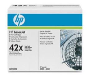 Genuine HP 42x High Capacity Black Toner Multipack Q5942XD