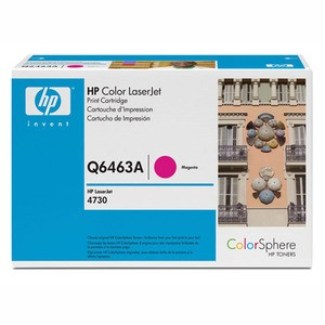 Genuine Magenta HP Q6463A Toner Cartridge - Q6463A