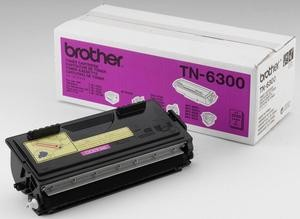 Original Brother Black Toner Cartridge OEM: TN-6300