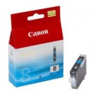 Original Cyan Canon CLI-8C Ink Cartridge - (0621B001)