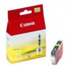 Original Yellow Canon CLI-8Y Ink Cartridge - (0623B001)
