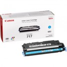 Original Cyan Canon 717C Toner Cartridge - (2577B002AA)