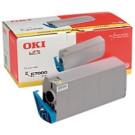 Original Oki Type C2 Yellow Toner Laser Cartridge 41304209