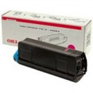 Original Oki Type C6 Magenta Toner Laser Cartridge 42127406