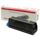 Original Oki 43487709 Yellow Toner Laser Cartridge