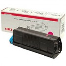 Original Oki 43487710 Magenta Toner Laser Cartridge