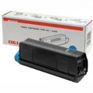Original Oki 43487711 Cyan Toner Laser Cartridge