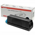 Original Oki 43487712 Black Toner Laser Cartridge