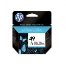 Genuine High Capacity Tri-Colour HP 49 Ink Cartridge - 51649AE
