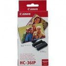 Original Tri-Colour Canon HC-36IP Ink Cartridge & Paper Photo Pack - (6929A001AA)