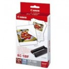 Original Tri-Colour Canon KC-18IF Ink Cartridge & Stickers Photo Pack - (7741A001AF)