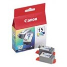Original Tri-Colour Canon BCI-15C Ink Cartridge Twin pack - (8191A002AA)