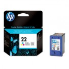 Genuine Tri-Colour HP 22 Ink Cartridge - C9352AE