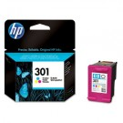Genuine Tri-Colour HP 301 Ink Cartridge (165 Pages) - CH562EE