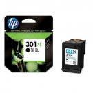 Genuine High Capacity Black HP 301XL Ink Cartridge (480 Pages) - CH563EE