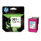 Genuine High Capacity Tri-Colour HP 301XL Ink Cartridge (330 Pages)- CH564EE