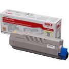 Compatible Yellow Oki 43865721 Toner Laser Cartridge - 43865721