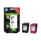 Best Value Twin Pack Black & Colour HP Genuine Cartridges