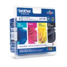 Original 4 Colour Brother LC-1100 Ink Cartridge Multipack (LC-1100BK/C/M/Y)