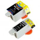 Compatible Black (15ml) & Colour (36ml) Kodak No.30XL Ink Cartridges Twin Pack (8039745)