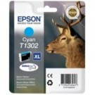 Genuine Extra High Capacity Cyan Epson T1302 Ink Cartridge
