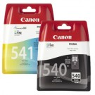 Twin Pack Black pg540 and Colour CL541 Ink Cartridges