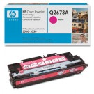 Genuine Magenta HP Q2673A Toner Cartridge - Q2673A