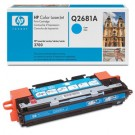 Genuine High Capacity Cyan HP Q2681A Toner Cartridge - Q2681A