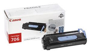 Original Black Canon 706 Toner Cartridge - (0264B002AA)