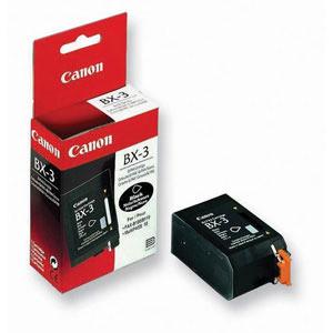 Original Black Canon BX-3 Ink Cartridge - (0884A002AA)