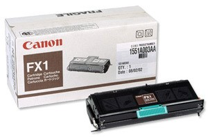 Original Black Canon FX1 Toner Cartridge - (1551A003AA)