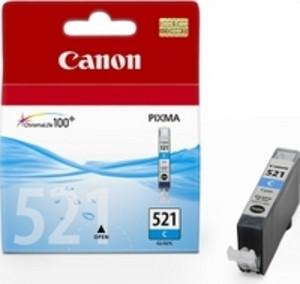 Original Cyan Canon CLI-521C Ink Cartridge - (2934B001AA)